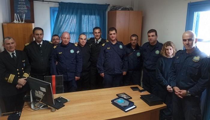 Αλλαγή «φρουράς» στο Λιμεναρχείο Χανίων (φωτο)
