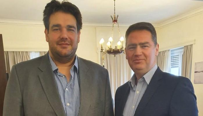 Στο Υπουργείο Εσωτερικών ο Δήμαρχος Χερσονήσου Γιάννης Σέγκος
