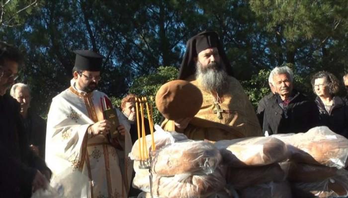 Πανηγυρίζει με κάθε μεγαλοπρέπεια το Ιερό Παρεκκλήσι του Αγίου Σπυρίδωνος στις Αρχάνες