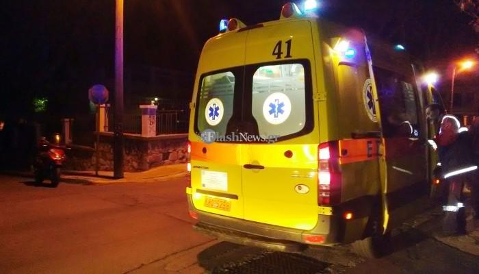 Τροχαίο ατύχημα με τραυματισμό σε διασταύρωση των Χανίων (φωτο)