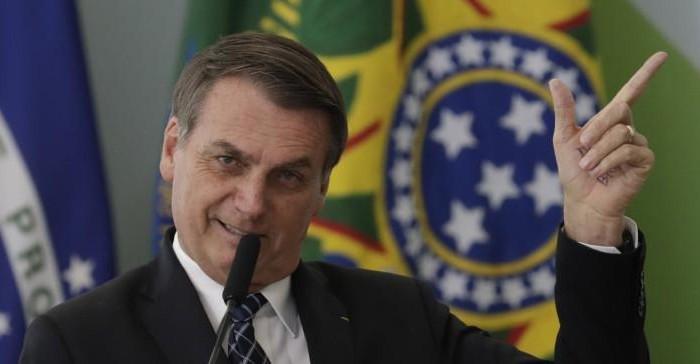 Ο Μπολσονάρου, Πρόεδρος της Βραζιλίας χάρη στη «βούληση του Θεού»