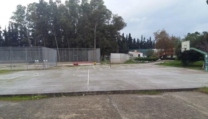 Η ΕΚΟ ανακαινίζει το ανοιχτό γήπεδο μπάσκετ στο ΜΑΙΧ - Σημαντική η συμβολή Γλυνιαδάκη