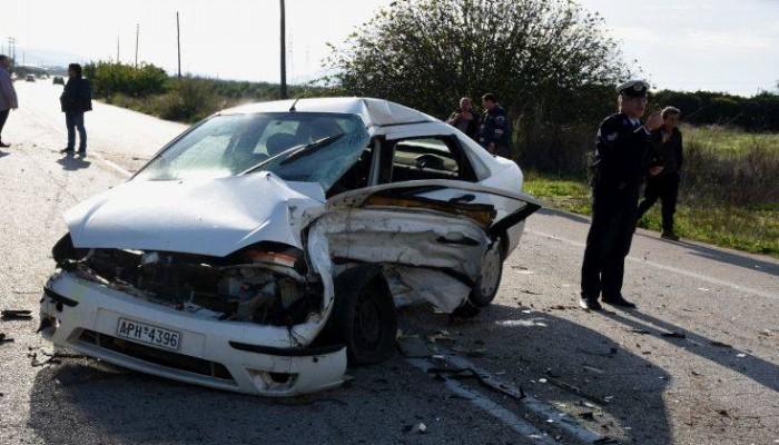 Τραγωδία στην Λιβαδειά: Σκοτώθηκαν σε τροχαίο δύο νέοι άνθρωποι