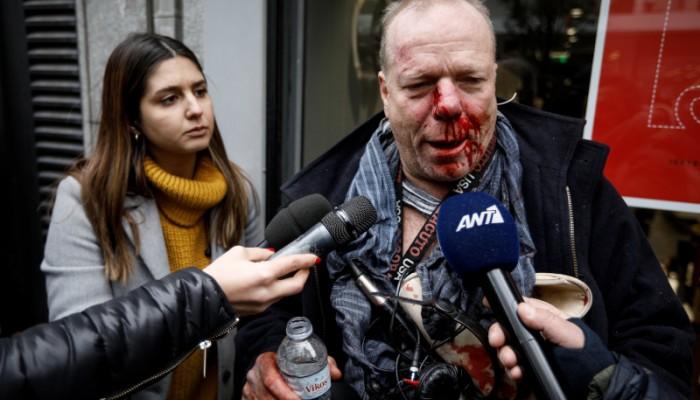 Ακροδεξιοί επιτέθηκαν σε Γερμανό δημοσιογράφο στο Σύνταγμα
