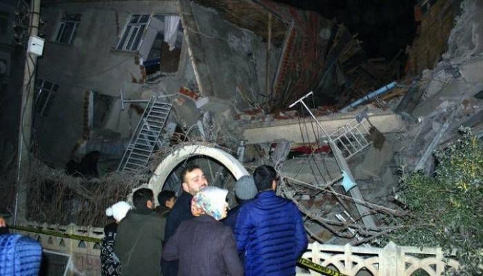 Στους 29 οι νεκροί από τον φονικό σεισμό στην Ανατολική Τουρκία