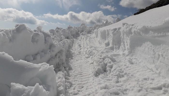 Αποκλεισμένο το χωριό Ασφένδου στα ορεινά των Σφακίων (φωτο)