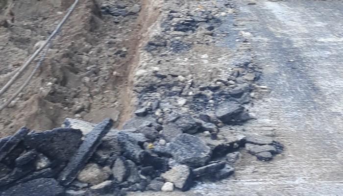 Αρχίζουν οι εργασίες αποκατάστασης των ζημιών στην ΠΕΟ Χανίων Ρεθύμνου στον Αποκόρωνα