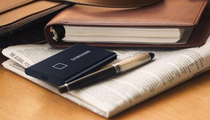 Ο φορητός SSD δίσκος με δαχτυλικό αποτύπωμα