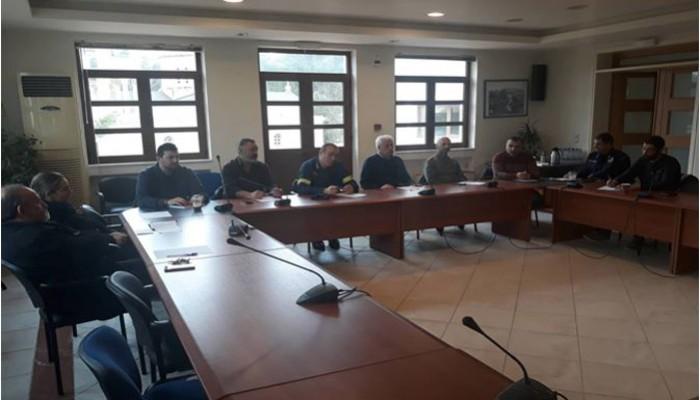 Συνεδρίασε το Συντονιστικό Όργανο Πολιτικής Προστασίας στον Αποκόρωνα