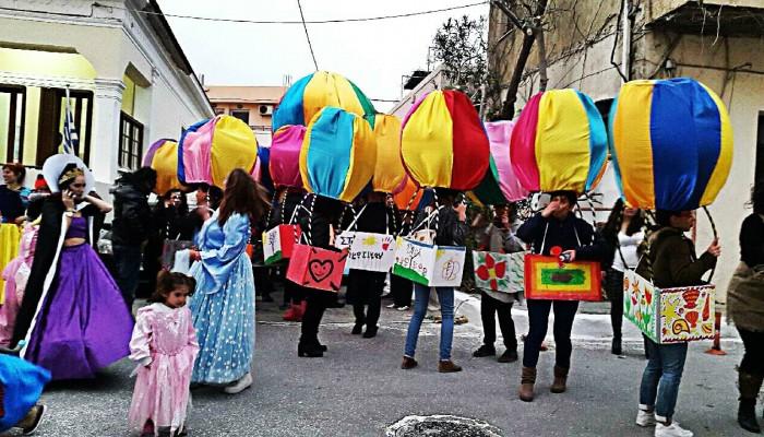 Οι καρναβαλιστές θα κάνουν διαδήλωση στην Παλαιόχωρα Σελίνου