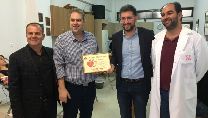 Πετυχημένη η 1η Εθελοντική αιμοδοσία του Δήμου Μαλεβιζίου