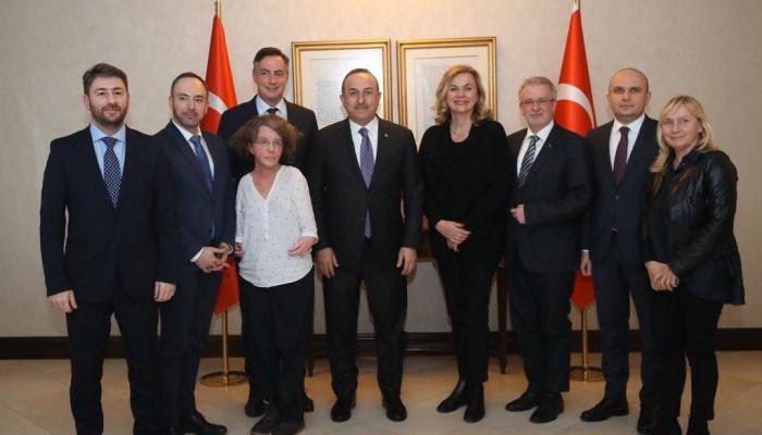 Συνάντηση Νίκου Ανδρουλάκη με τον Τούρκο Υπουργό Εξωτερικών Mέχμετε Τσαβούτσογλου