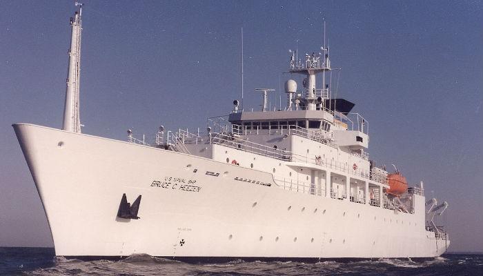 Στη Σούδα ωκεανογραφικό πλοίο του πολεμικού ναυτικού των ΗΠΑ