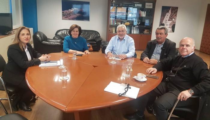 Στο Υπουργείο Ναυτιλίας η Μαρία Κοζυράκη