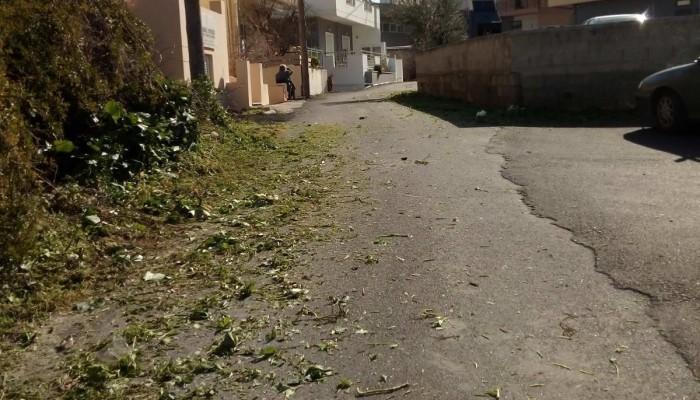 Συνεχίζεται το εντατικό πρόγραμμα καθαρισμών οδοποιίας στο Μαλεβίζι