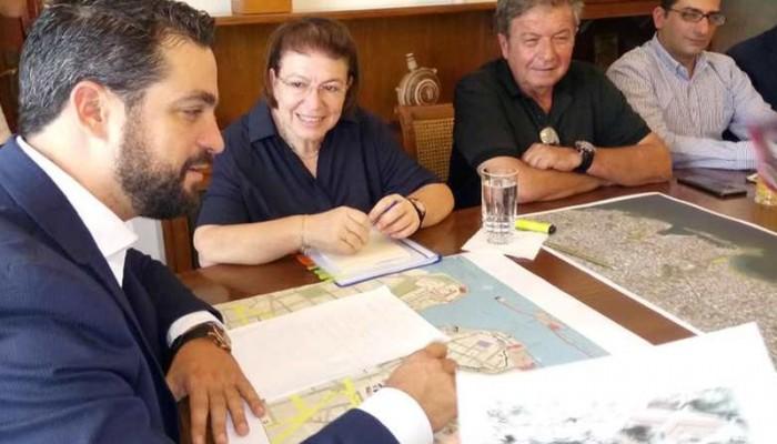 Στα Χανιά η Υπουργός Πολιτισμού Λίνα Μενδώνη