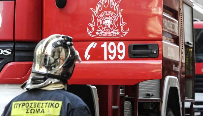 Μια σύλληψη για εμπρησμό από πρόθεση στο Ηράκλειο