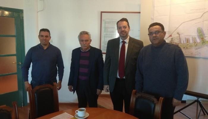 Αντιπροσωπεία του ΚΚΕ στο Λιμάνι Ηρακλείου