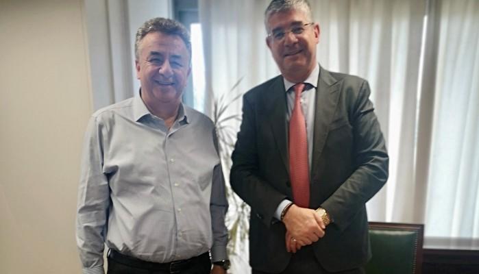 Συνάντηση Περιφερειάρχη Κρήτης με τον Υφυπουργό Ανάπτυξης για το ΕΣΠΑ
