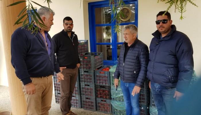 Δήμος Φαιστού: Θέματα αστυνόμευσης και διανομή τροφίμων