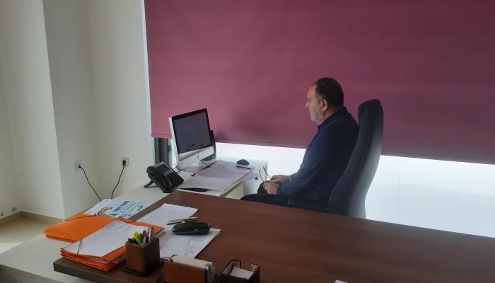 Σε τηλεδιάσκεψη με το προεδρείο της ΚΕΔΕ & τους Προέδρους των ΠΕΔ συμμετείχε ο Γ. Κουράκης
