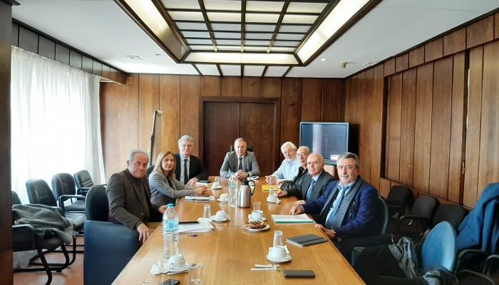 Στο Υπουργείο Εσωτερικών η Μαρία Κοζυράκη