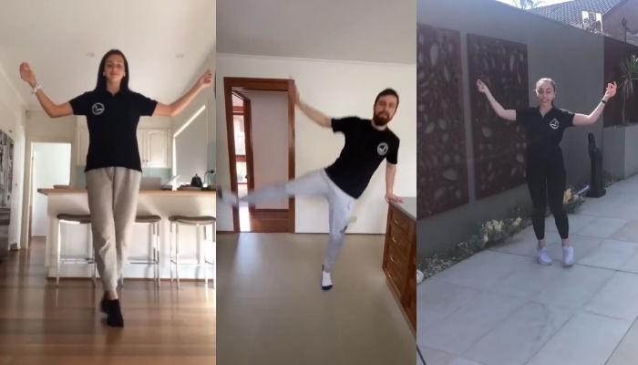 Οι Κρητικοί της Αυστραλίας χορεύουν από το… σπίτι (βίντεο)