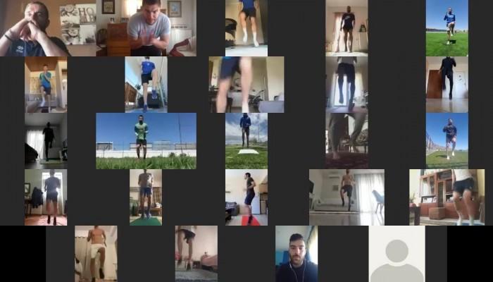 Συνεχίζονται οι διαδικτυακές προπονήσεις (βίντεο)