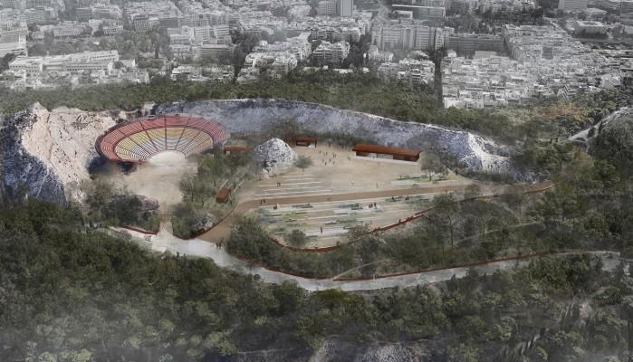 Πολυτεχνείο Κρήτης: A' Βραβείο σε Αρχιτεκτονικό Διαγωνισμό για το θέατρο Λόφου Λυκαβηττού