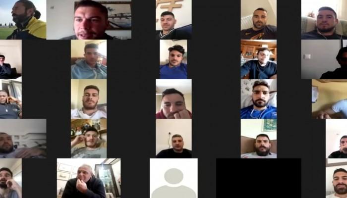 Με τηλεδιασκέψεις οι προπονήσεις στην ΠΑΕ Χανιά