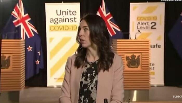Τέρας ψυχραιμίας η Τζασίντα Άρντερν ενώ η Νέα Ζηλανδία «χόρευε» από 5,9 Ρίχτερ