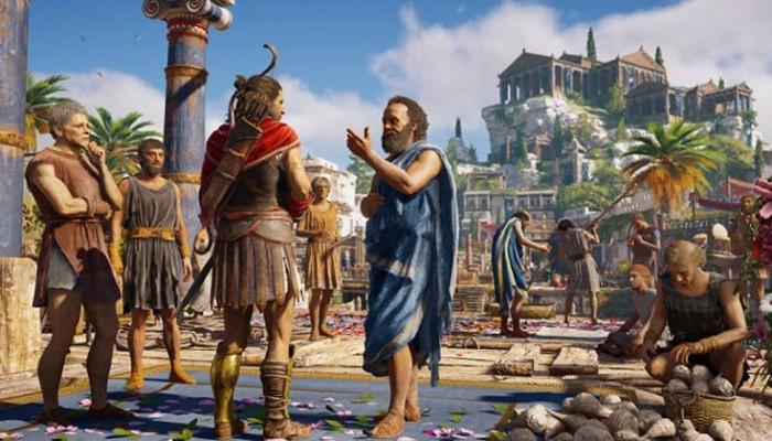 Πλήρη ξενάγηση στην αρχαία Ελλάδα προσφέρει το Assassin's Creed και μάλιστα δωρεάν