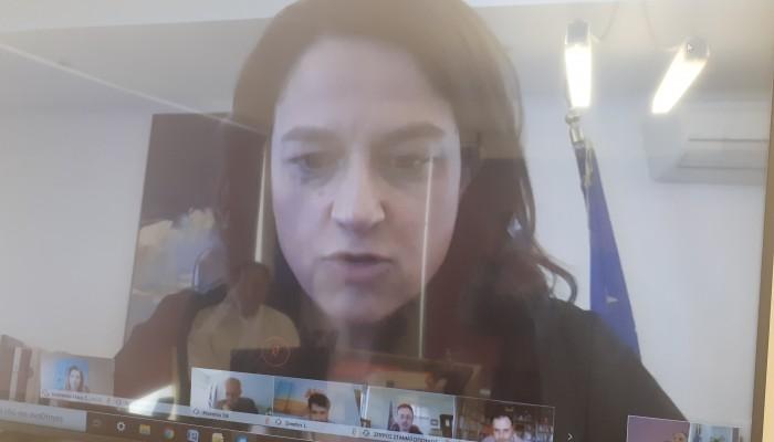 Σε τηλεδιάσκεψη με την Υπουργό Παιδείας ο Γιάννης Κουράκης