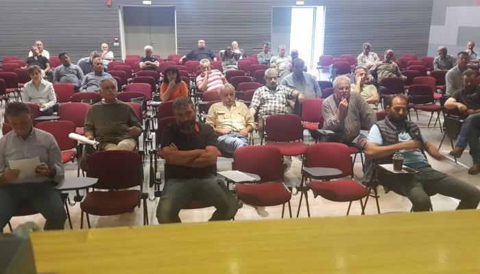Συνάντηση στο Δήμο Μινώα-Πεδιάδος για την υλοποίηση του προγράμματος δακοκτονίας