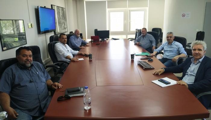 Συνάντηση του Δημάρχου Κισσάμου με την Διοίκηση του Ο.Α.Κ.