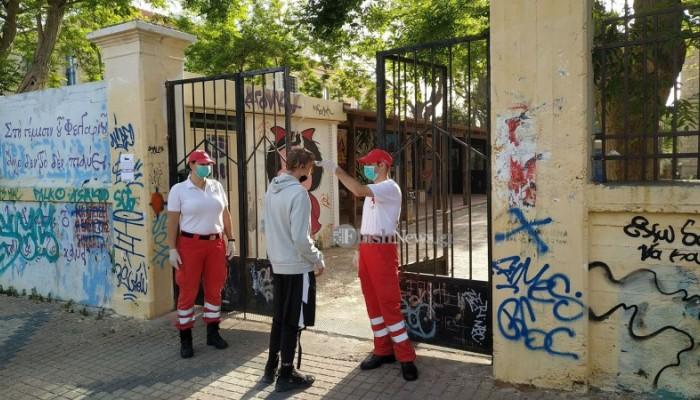 Καταγγελία για επίθεση σε εθελοντές Σαμαρείτες έξω από σχολείο των Χανίων