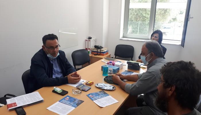 ΚΚΕ: Περιοδεία του Μανώλη Συντυχάκη στα Χανιά