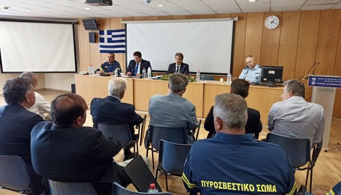 Στήριξη απο την Περιφέρεια Κρήτης στην προστασία της Δημόσιας Ασφάλειας
