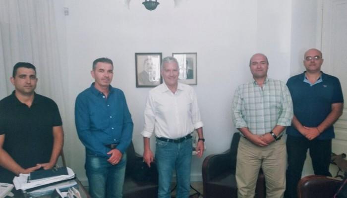 Ε.Π.Λ.Σ. Δυτικής Κρήτης: Συνάντηση με τον Βουλευτή Χανίων Μανούσο Βολουδάκη