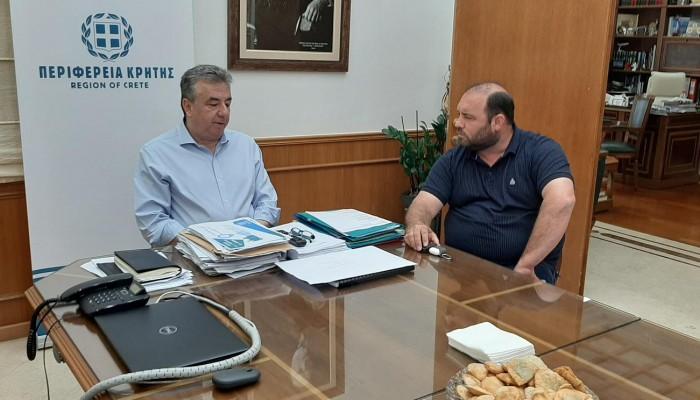 Στην Περιφέρεια Κρήτης η Επισκοπή για το προπονητικό κέντρο