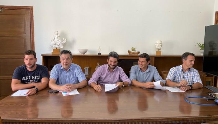Υπεγράφη η σύμβαση για την ενεργειακή αναβάθμιση του Γυμνασίου Σούδας