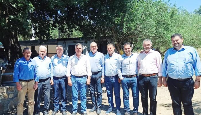 Προσκύνημα στους Αγ Πάντες στον Δήμο Βιάννου για τον Σταύρο Αρναουτάκη