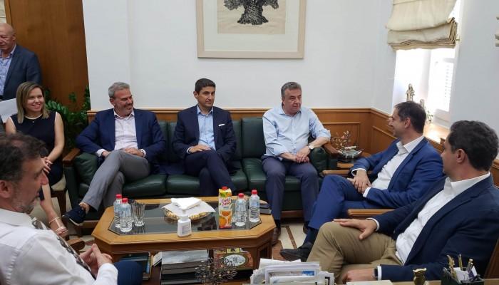 Στ. Αρναουτάκης: «Η Περιφέρεια Κρήτης στηρίζει την προσπάθεια των ανθρώπων του τουρισμού»