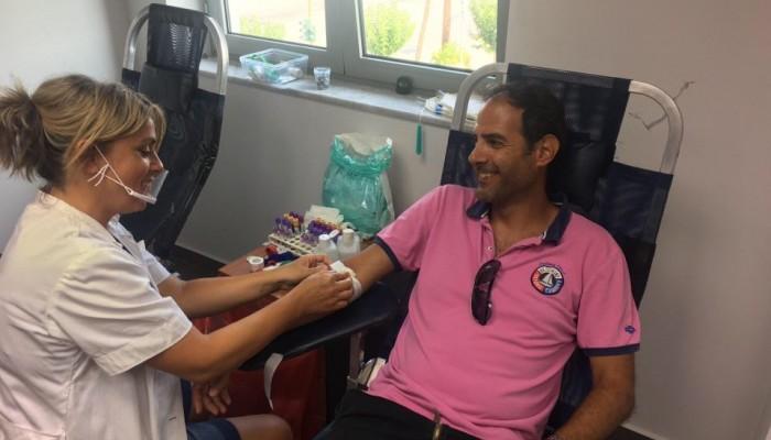 Επιτυχημένη η εθελοντική αιμοδοσία στη Δ.Ε.Υ.Α. Χανίων (φωτο)