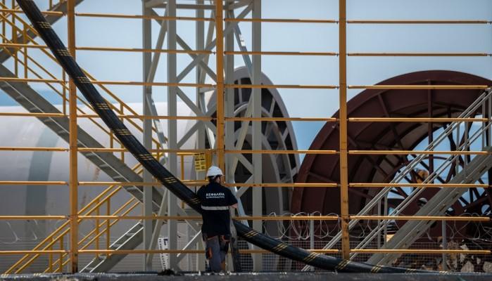 Εντός χρονοδιαγράμματος η διασύνδεση Κρήτης - Πελοποννήσου - Πότε θα δοθεί ρεύμα