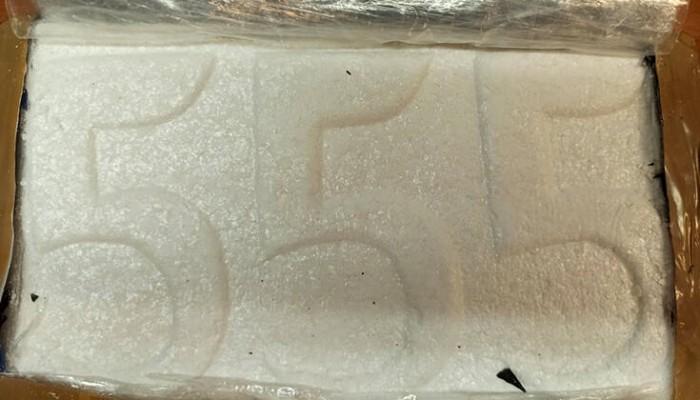 Πεντακάθαρη κοκαΐνη «555» αξίας 1,2 εκατ. ευρώ θα «έσπρωχναν» στην Ελλάδα
