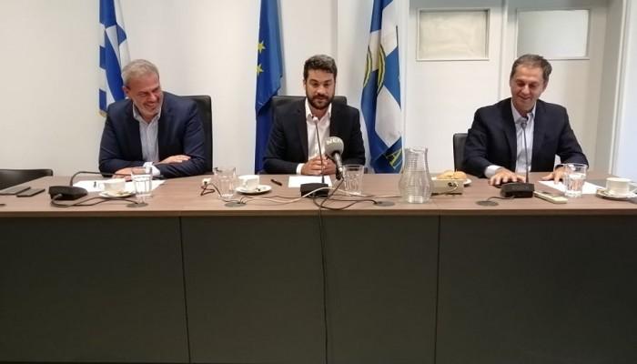 Η συνάντηση του Υπουργού Τουρισμού με Δημάρχους των Χανίων