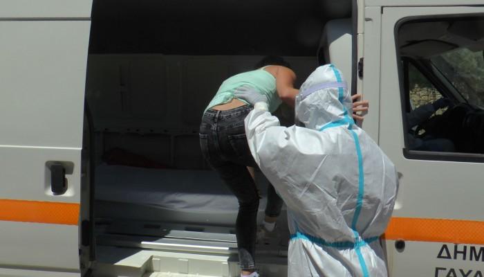 Σε εφαρμογή το σχέδιο για ύποπτα κρούσματα κορωνοϊού στη Γαύδο