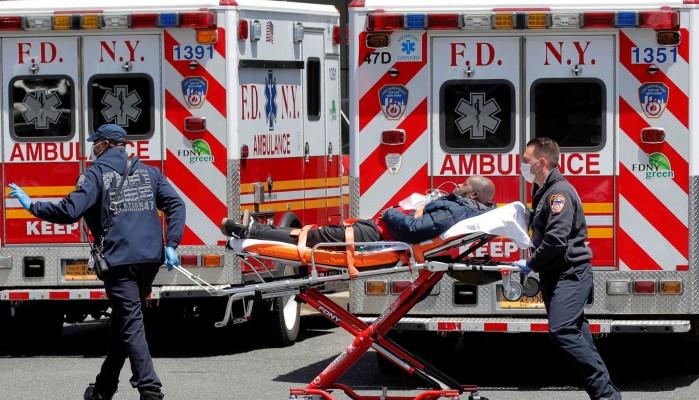 Κορωνοϊός: Νέο ρεκόρ κρουσμάτων στις ΗΠΑ – 66.528 μέσα σε 24ώρες και 760 νεκροί