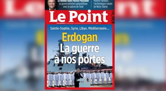Le Point κατά Ερντογάν: «Ο πόλεμος στην πόρτα μας»